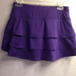 Athleta Swagger Womens Skort Skirt Size XS Purple